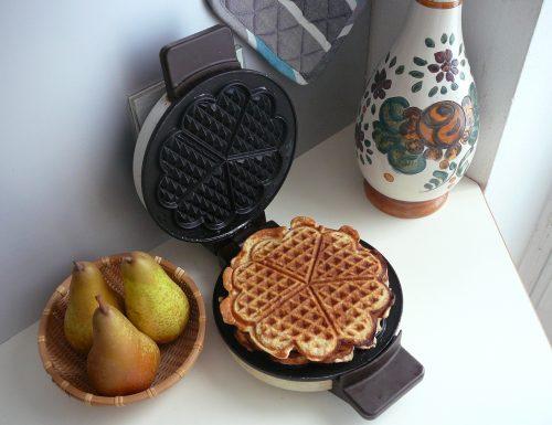 Five Grain Spelt Protein Waffles