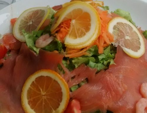 Salmon Summer Salad