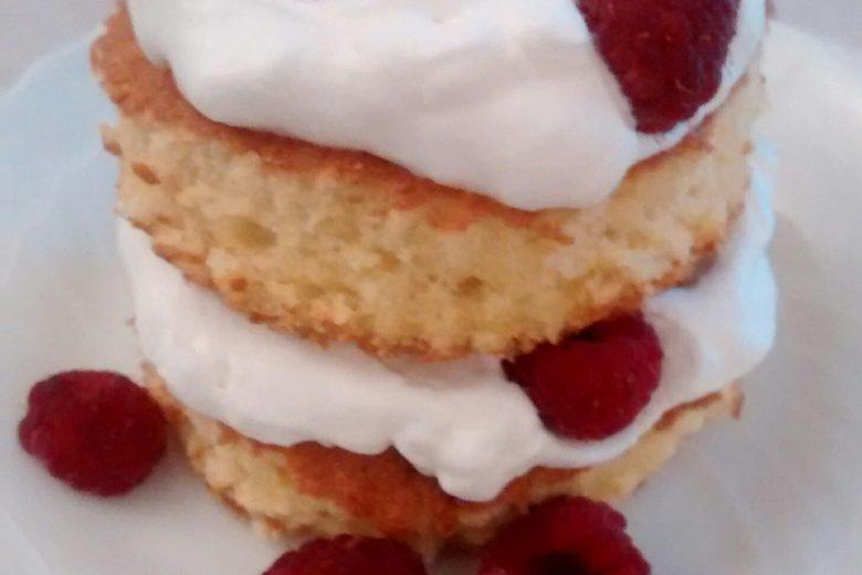 Gluten-free Raspberry Shortcake