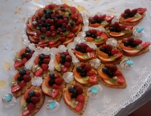 Italian Fruit Tart  (Crostata di Frutta)