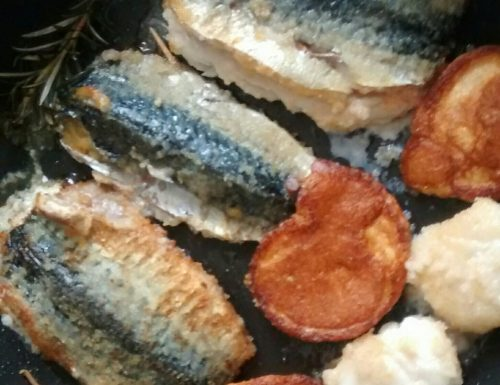 Stuffed Mackerel with Scallop Roe