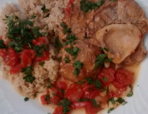 Summer Ossi Buchi with Quinoa