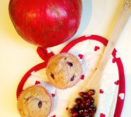 New Year Pomegranate Muffins