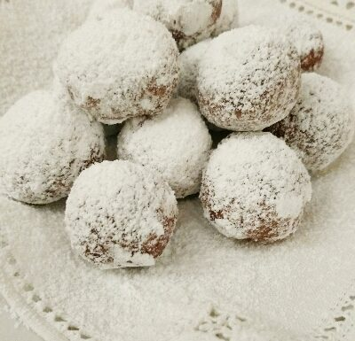 Chocolate Oatmeal Nut Truffles