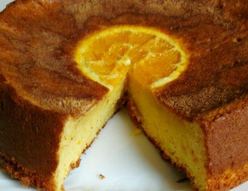 Gluten Free White Chocolate Orange Cake