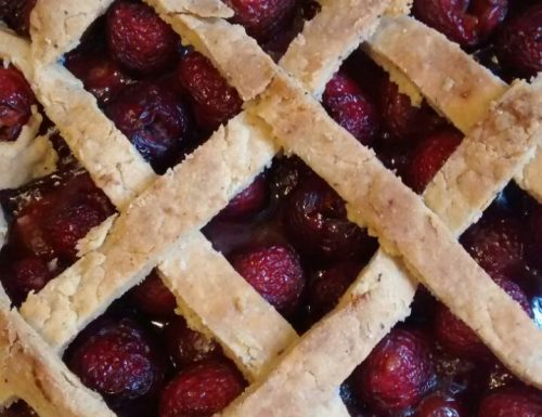 Rustic Fresh Cherry Pie