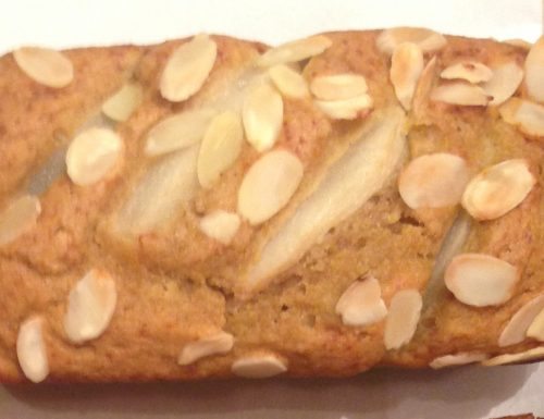 Mini Almond Pear Loaves
