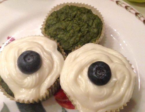 Apple Kale Cupcakes