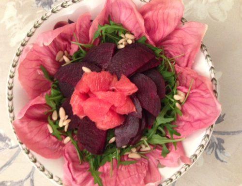 Pink Spring Salad