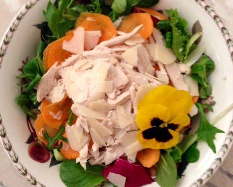 Glorified Warm Chicken Salad