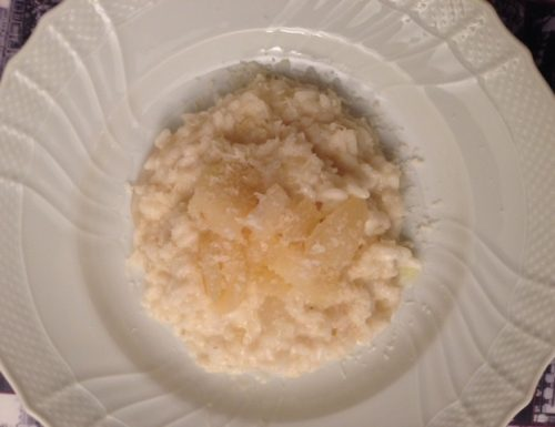 Pear and Goat Cheese Risotto