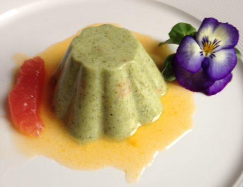 Terrina di Broccoli con Salsa di Mandarino