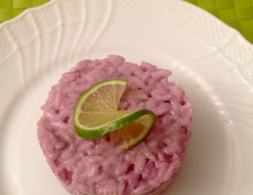 Blueberry and Lime Risotto