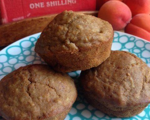 Irish Apricot Oatmeal Muffins