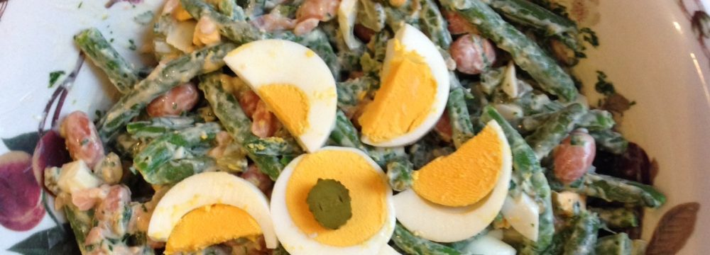 Norwegian Green Bean and Salmon Salad