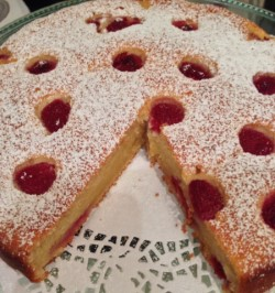 Raspberry Ricotta (Cheese) Cake