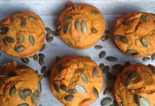Easy Blender Pumpkin Muffins