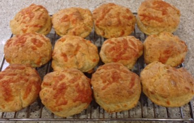 Dubliner Cheese Biscuits
