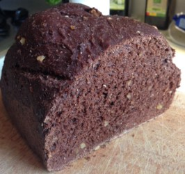 Chocolate Wine Loaf