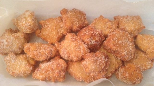 Rice Fritters from Siena
