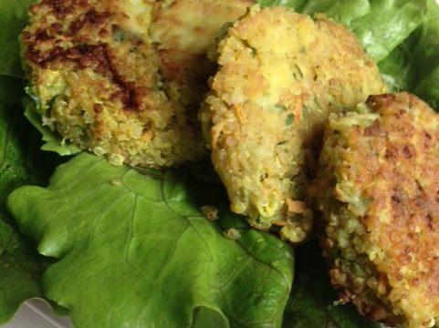 Quinoa Zucchini Croquettes