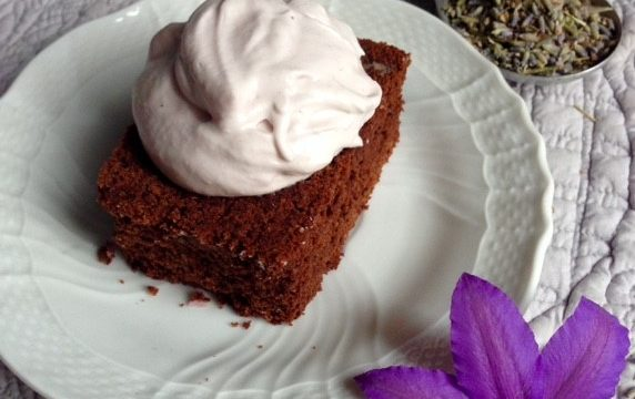 Lavender Olive Oil Brownies