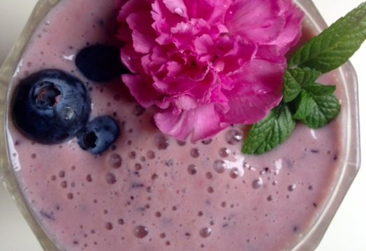Three Berry Smoothie