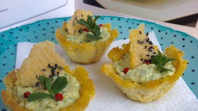 Crunchy Millet Baskets