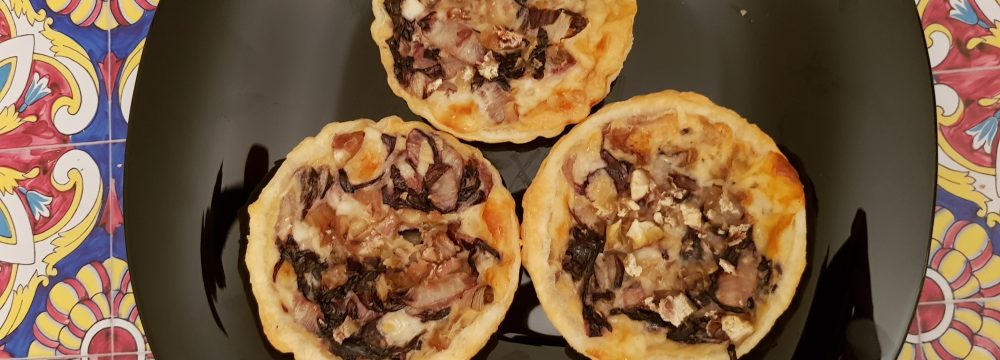 Red Chicory Mini Quiches