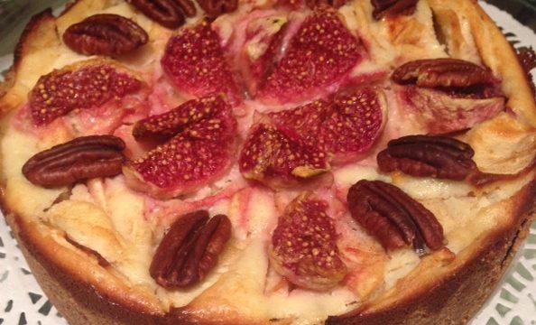 Autumn Fruits Cheesecake