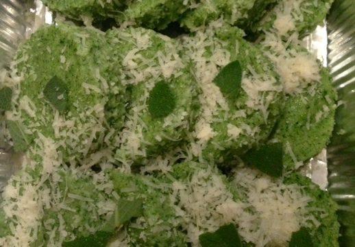 Spinach Gnocchi alla Romana
