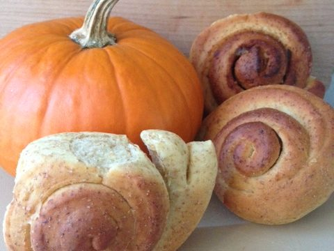 Whole Wheat Cinnamon Roll Snails