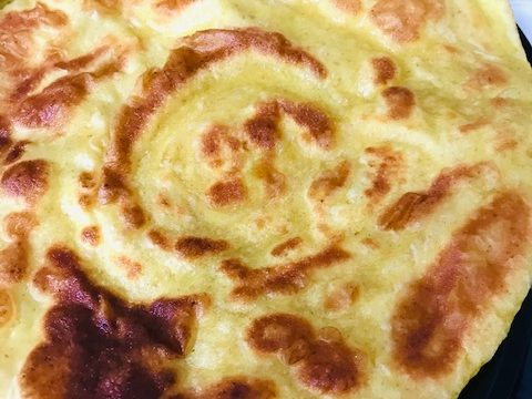 Paratha fried bread