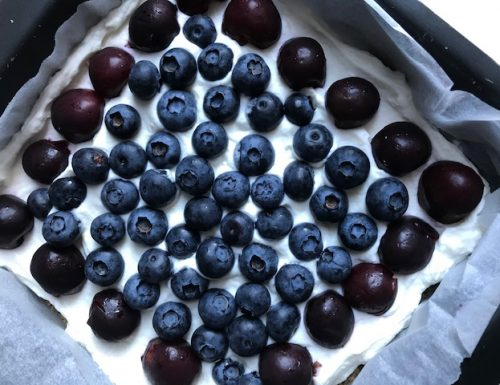 Cherry Berry No-Bake Cheesecake