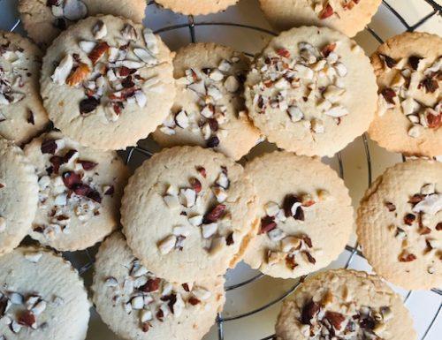 Almond Sable' Cookies
